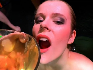 Claudia be transferred to Young extreme Piss lover - 666Bukkake