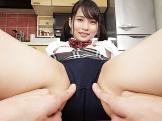 Aoi Kururigi My Breast-feed with a Great Ass Came Digs Wearing Bloomers Part 1 - SexLikeReal