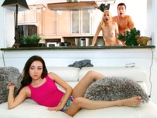 Sierra Nicole & Ramon Nomar hither Party Crasher - RealityKings