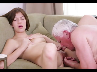 Grandpa fucks Teen Girl