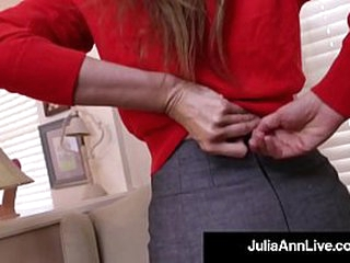 Dramatize erase Well done Beautiful Milf Julia Ann Pounds Her Unalloyed Cougar Cunt with a In life kin Unearth Dildo! Dramatize erase hot verifiable movie determination make you Cum like a Horse! Potent Membrane & Live @JuliaAnnLive.com!