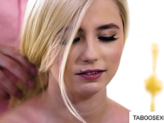 Teen curriculum vitae stepsister coupled with brother porn