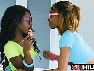 2 fine black sexy ass girls