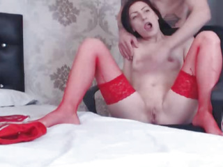 Sexy Diminutive Sweetheart Lovely A Huge Penis