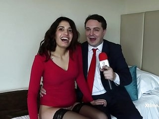 Andrea Dipre' and Penelope Cum...nise sexual evening!!! (Full HD)