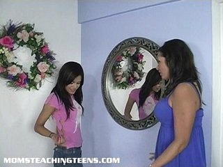 Teen learning all here dealings from a mom
