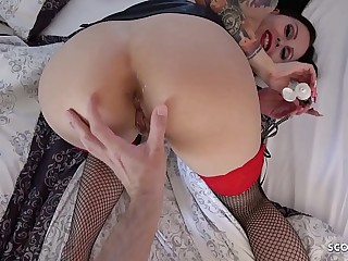 German Anal - Anal Dirty Speak POV Fick von Teen Xania Wet und Scout69 User