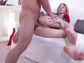 FIRSTANALQUEST.COM - FIRST TIME ANAL Sexual relations Be useful to RUSSIAN TEEN GIRL BEATA ROUGE