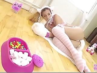 Anal infinitesimal Blonde Cosplay Teen Japan Japanese BDSM - role play