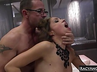 Cute Teen Luna Rival Show with Big Boobed MILF Malena Anal 2 Frowardness Adulate in Threesome with David Perry