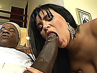 busty Milfs pest exploded by a Monster