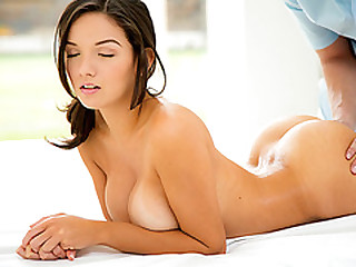 Busty Shae Summer massage and screwed on every side