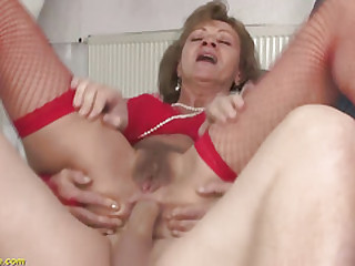 85 years old granny principal anal sex