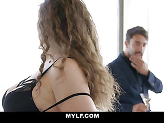 MYLF - Insensible to Hot Body Milf Seduces A Stud's Chubby Ass Learn of