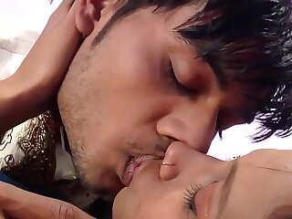 Desi Couple Kissing