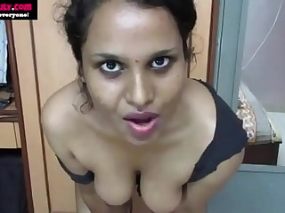 Best Indian Tamil Maid Horny Lily Dirty Confab give Hindi Microbe off Instruction